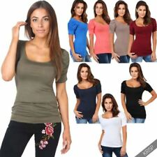 Short Sleeve Other Women's Tops with Pleated