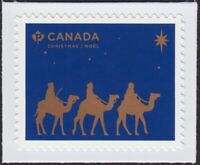 CHRISTMAS 2019 = MAGI TRAVELING =stamp cut from booklet = Canada MNH VF