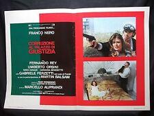 FOTOBUSTA CINEMA - CORRUZIONE AL PALAZZO DI GIUSTIZIA - FRANCO NERO - 1975 - 11