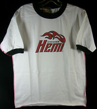 DODGE HEMI T-Shirt Men's White Short Sleeve Size MED Pre-Owned NOS