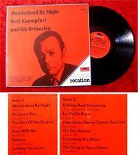 LP Bert Kaempfert Wonderland by Night Polydor Rotation