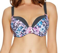 FREYA DECO DEBUT BRA CLOVER MOULDED PADDED PLUNGE UNDERWIRED PINK FLORAL 1084