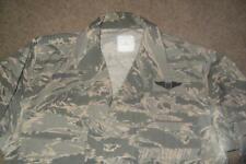 Military ABU Shirt 40R Man's Tiger Stripes Airman Battle Uniform USAF #311