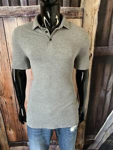 Lululemon Short Sleeve Dark Gray Mini Stripe Evolution Polo Shirt Size Medium