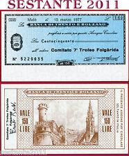 BANCA TRENTO E BOLZANO LIRE 150 15.3. 1977 COMITATO 7 TROFEO FOLGARIDA FDS B143