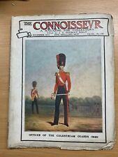 """NOV 1914 """"THE CONNOISSEUR MAGAZINE"""" ANTIQUES & ART COLLECTORS MAGAZINE (P3)"""