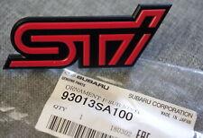 Genuine Subaru STI Front Grille Badge Emblem OEM from 2004-2007 Forester STI JDM
