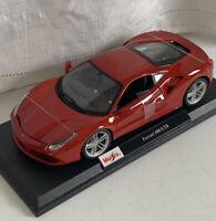 Maisto Ferrari 488 GTB  1/18 scale die-Cast metal Special Edition Open Doors