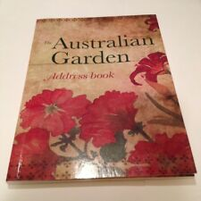 Address & Telephone Book-Australian Garden,Pocket size,#SundayMarket