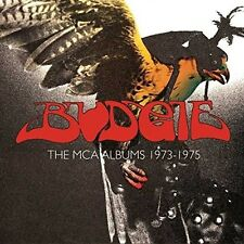 Budgie-The album MCA 1973-1975 (3cd) BOX 3 CD NUOVO