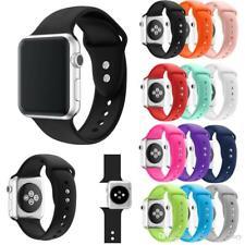 Correa repuesto Sport silicona reloj banda para Apple Watch Series 2 3 4 5 6