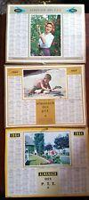 Lot de 3 ALMANACH des Postes P.T.T 1963 & 1964;  - Ed. Nord
