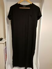 Next Maternity 14 Black Jersey Dress New Cool Comfortable Baby Bump Outfit