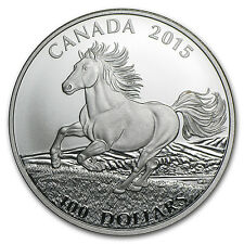 2015 Canada 1 oz Silver $100 for $100 (Canadian Horse) - SKU #87657