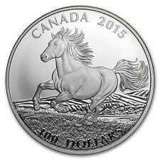 2015 Canada 1 oz Silver $100 for $100 (Canadian Horse) - SKU #87657