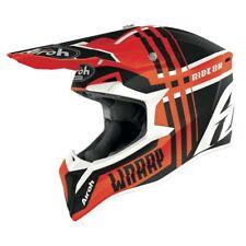Airoh Wraap Roto Naranja Mate Motocross MX Enduro Moto de Cross Casco