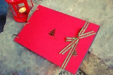 Red Scrapbooking Albums