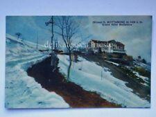 MOTTARONE Grand Hotel Stresa Alpi Verbano Cusio Ossola vecchia cartolina