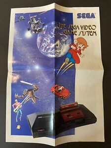 The Sega Video Game System Poster (1989, Canada)