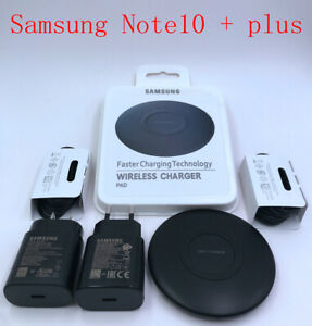 Genuine 25W Super Fast Wall Charger Wireless Charger For Samsung Galaxy S20 S20+