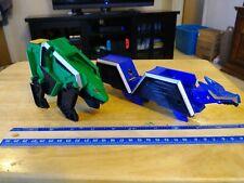 2011 Power Rangers Deluxe Samurai Dragon Megazord Green Bear Zord GX Used Toy