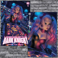 🔥 LEGENDS OF THE DARK KNIGHT #1 WARREN LOUW HARLEY QUINN VIRGIN VARIANT SET NM!