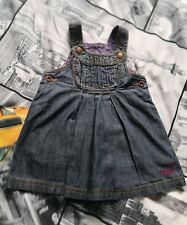 Ted Baker Baby Girl denim dress size 6-9 months