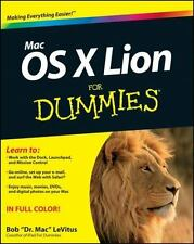 NEW - Mac OS X Lion For Dummies by LeVitus, Bob