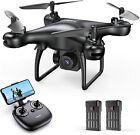 Tomzon Drohne mit Kamera FPV 1080P Drone WiFi RC Quadrocopter Selfie Spielzeug