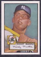 "1991  MICKEY MANTLE - Topps Reprint "" East Coast National Show "" Baseball Card"