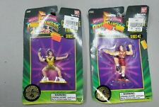 Lot of (2) 1994 Mighty Morphin Power Rangers Figures Series #2 in Packages