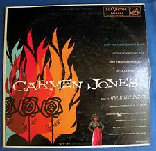 CARMEN JONES Soundtrack RCA Victor L-1881 Red Seal 33 LP Georges Bizet