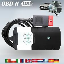 2014.R2 CAR TRUCK AUTO DIAGNOSTIC OBD FAULT SCANNER SOFTWARE UNIVERSAL BEST TOOL
