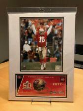 Joe Montana San Francisco 49ers Super Bowl 12X16 Matted Photo & Event Cover