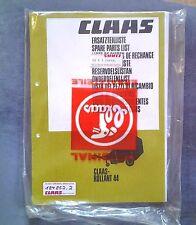 Anleitungen & Handbücher Claas Wsd Kreiselschwader Ersatzteilliste Original 1974 Lagerexemplar