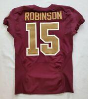 #15 Aldrick Robinson of Washington Redskins NFL Alternate Game Issued Jersey