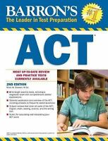 Barron's ACT, 2nd Edition [Barron's Act [Book Only]] Stewart  M.Ed., Brian W. Ve
