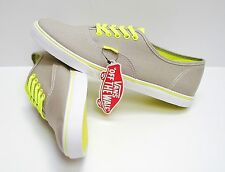 Vans Authentic Lo Pro Neon Grey Yellow VN-0T9N8GI Women's Size 9