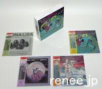 MONA LISA / JAPAN Mini LP SHM-CD x 4 titles + PROMO BOX Set!!