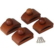 Classy Clamps Wooden Quilt Hangers 4 Small Clips (Dark) And Screws Wall Up Rugs,
