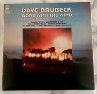 """DAVE BRUBECK QUARTET """" GONE WITH THE WIND """"  CBS UK 1977 REISSUE LP - VG+"""