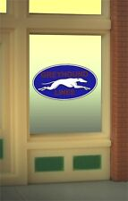Miller's Greyhound Lines Animated Neon Window Sign O Scale #8950