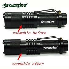 5000 Lumen Super Bright  CREE XML T6 Tactical Zoomable LED Flashlight Torch Lamp