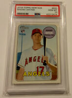 2018 Topps Heritage Shohei Ohtani RC #600 PSA 10 GEM MINT Angels Pitcher/DH