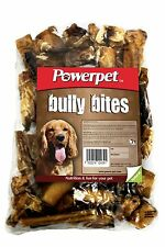 All Natural Bully Stick Bites 1lb. Odorless DOG CHEW TREATS