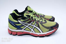VGC! ASICS GT-2000 Men Size 7 Running Shoes Yellow/Black/Red/White
