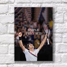 Roger Federer Tennis players T-379 Art Poster 24x36 27x40