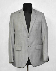A5 NWT SAKS FIFTH AVENUE ERMENEGILDO ZEGNA Wool Cloth New Napoli Blazer Sz 38 R