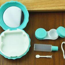 Macaroon Shape Contact Eye Pupil Lens Case Box Outdoor Portable Color LN8C