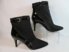 Charles by Charles David VAVLA Faux Leather Fashion Ankle Boots Black Sz 9-M
